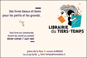 librairie tiers temps